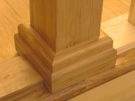 Drywall Decoration · Bamboo Newel Post Mount Kit