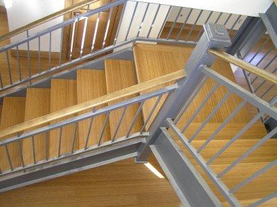 Open Bamboo Staircase Boulder Colorado